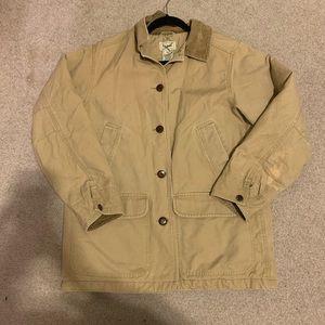 L.L. Bean women's heavy khaki jacket